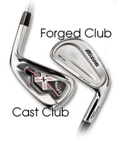 cast and forged clubs
