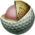 golf ball 3-piece