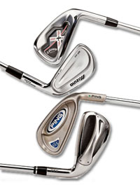 golf iron selection