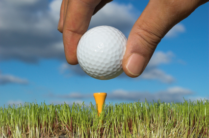 used golf ball
